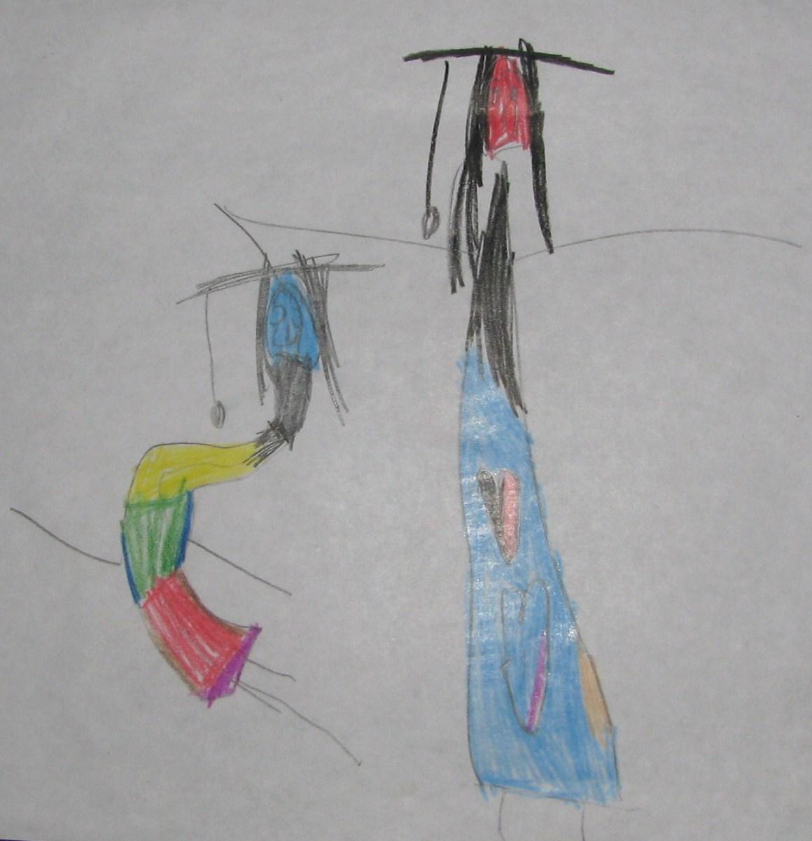 Amma and Amma Dancing By Chula, Mar2009